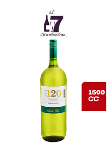 Gran 120 Vino Blanco 1500 CC x 6 unidades