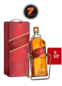 Johnnie Walker Red Label 3 Litros Edición Especial