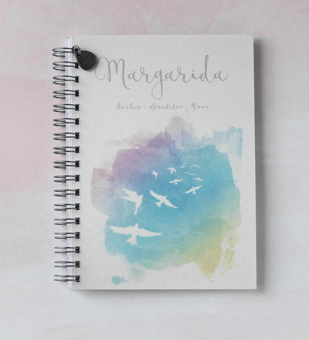 Caderno Sonhar; Acreditar; Voar