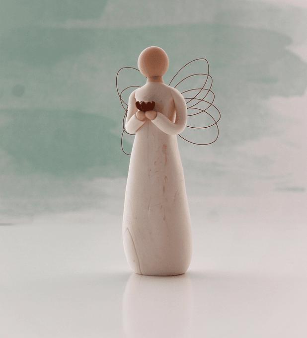 Anjo da determinação e perseverança