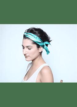 Turquoise Head Scarve