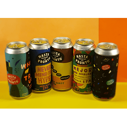 Pack Cerveza Hasta Pronto x4