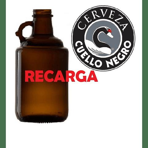 1 Lt Recarga Cerveza Cuello Negro Ambar (de Barril)