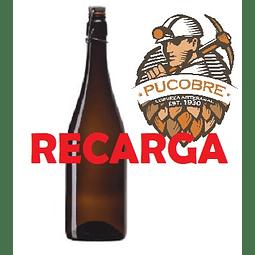1 Litro Recarga Cerveza Pucobre Blond Ale (de Barril)