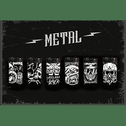 Pack Vasos Metaleros