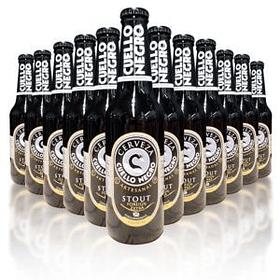 Caja Cerveza Cuello Negro 24 Stout