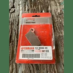 Pastillas traseras originales Yamaha WR450F 2014 1C3-W0046-B0