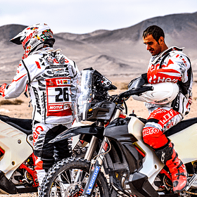 Clases + Entrenamiento Rally Cross Country en Atacama