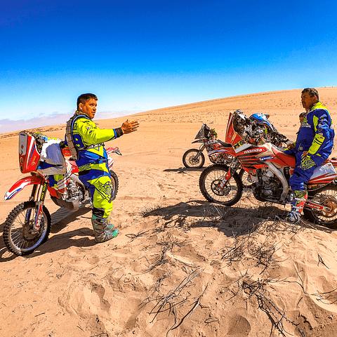 Clases + Entrenamiento Rally Cross Country en Atacama