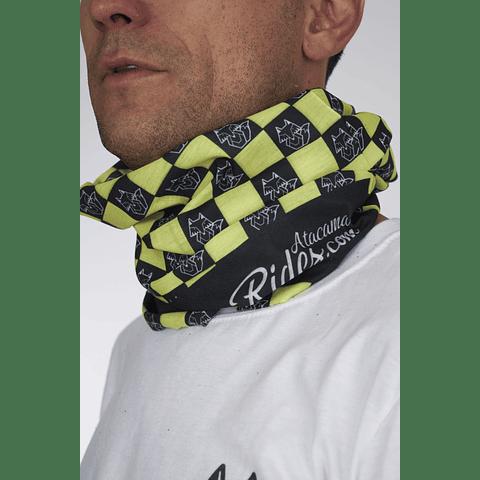 Bandana Atacama Rides Amarillo/Negro