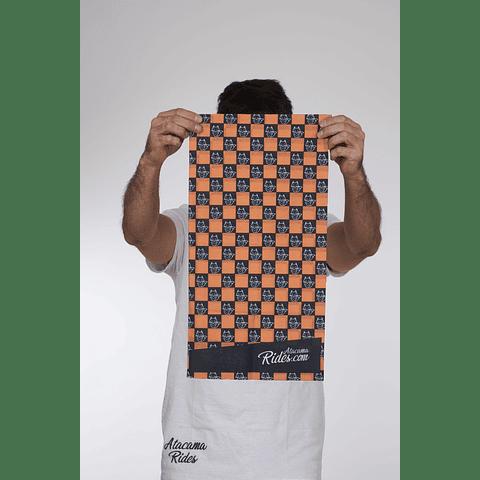 Bandana Atacama Rides Naranjo/Negro