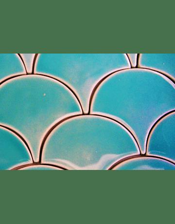 Fish Scale Tile, special plain color