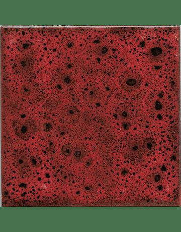 Azulejo 10x10cm - Cores de Efeito - Linha Klee - Cor  Vermelho