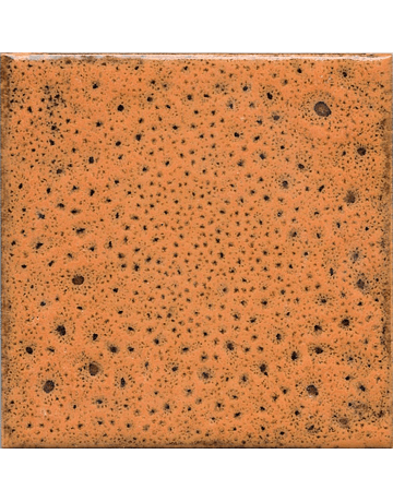 10x10cm Tile - Effect Colors - Klee Line - Orange Color