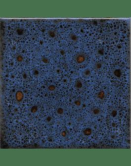 Tile 10x10cm - Effect Colors - Klee Line - Dark Blue Color