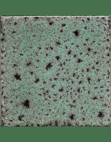 Tile 10x10cm - Effect Colors - Klee Line - Copper Green Color