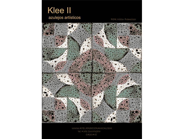 Decorated Tiles-Klee II