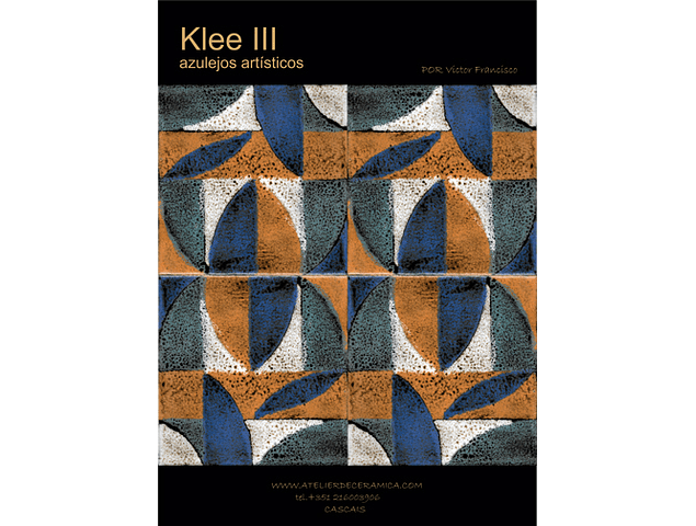 Decorated Tiles-Klee III