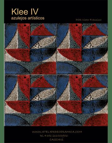 Carreaux décoré-Klee IV