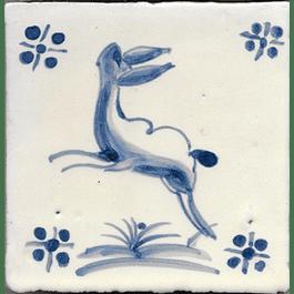Azulejo para Restauro - Antigo Figuras
