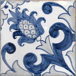 Azulejo para Restauro - Antigo Padrão 4