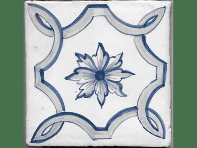 Azulejo para Restauro - Antigo Padrão 17