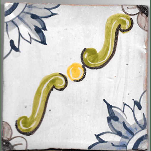 Azulejo para Restauro - Antigo Padrão 10