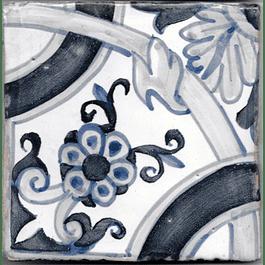 Azulejo para Restauro - Antigo Padrão 13