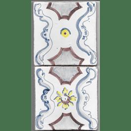 Azulejo para Restauro - Antigo Padrão 5 e 6