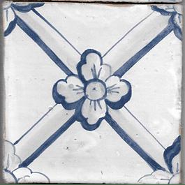 Azulejo para Restauro - Antigo Padrão 32