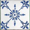 Azulejo para Restauro - Antigo Padrão 33