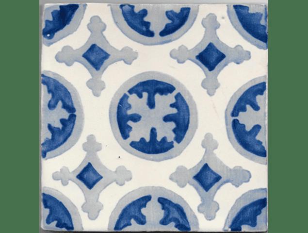 Azulejo para Restauro - Antigo Padrão 34