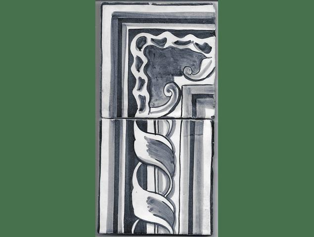 Restoration Tile - Old border 2
