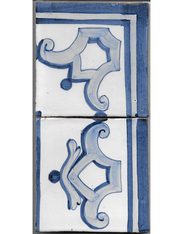 Restoration Tile - Old border 4