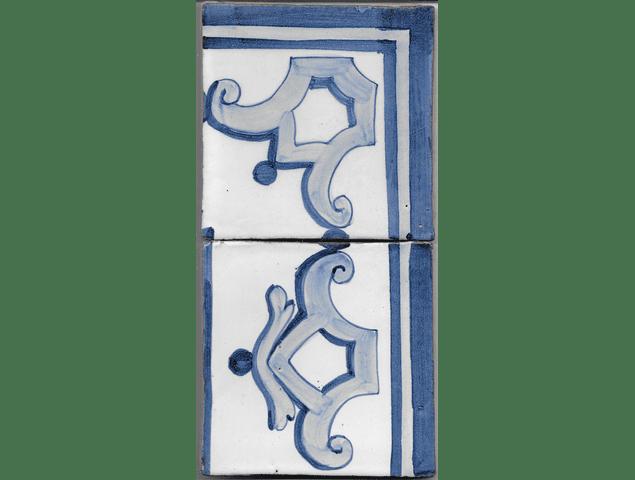Azulejo para Restauro - Antigo Cercadura 4