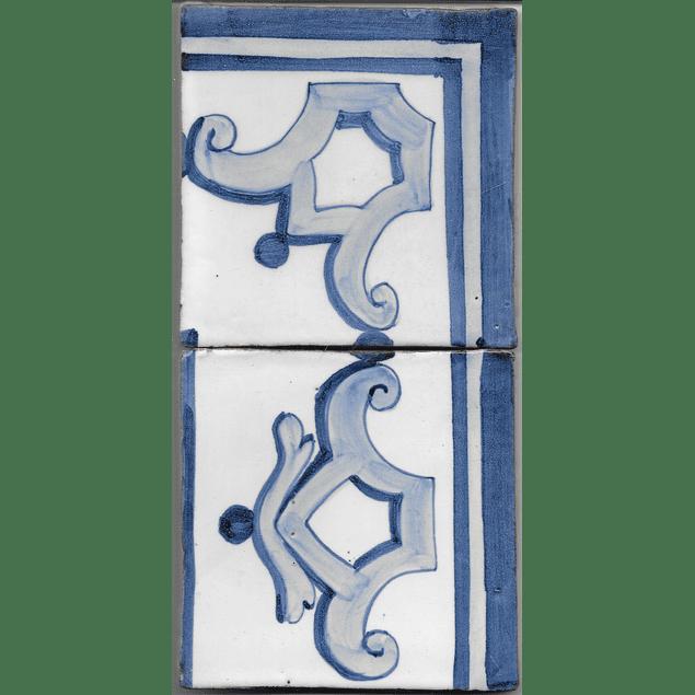 Restoration Tile - Old border 4