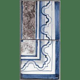 Azulejo para Restauro - Antigo Cercadura 6
