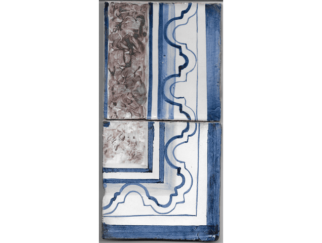 Restoration Tile - Old border 6
