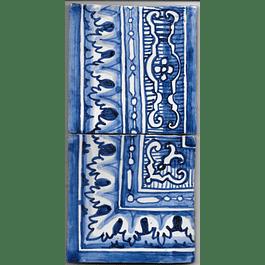 Azulejo para Restauro - Antigo Cercadura 8