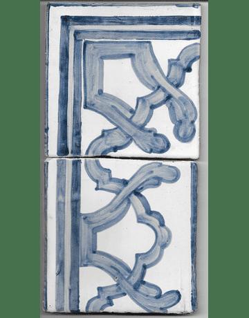 Azulejo para Restauro - Antigo Cercadura 11