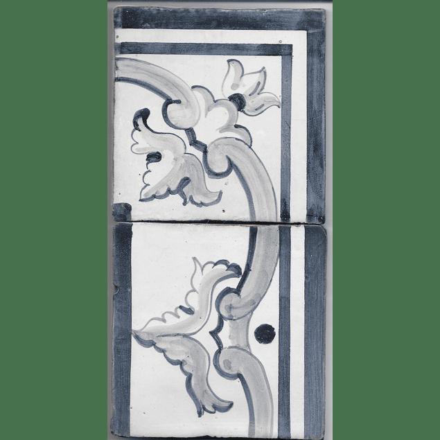 Azulejo para Restauro - Antigo Cercadura 17