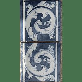 Azulejo para Restauro - Antigo Cercadura 19
