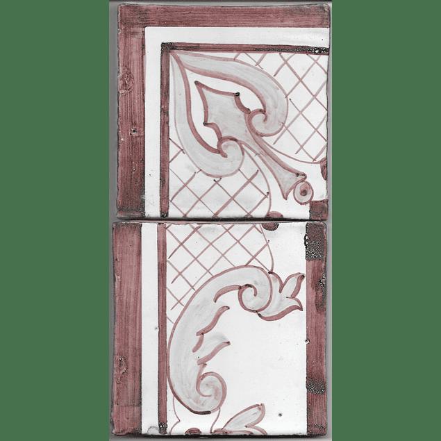Azulejo para Restauro - Antigo Cercadura 20