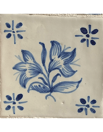 Restoration Tile - Antique Figures 2
