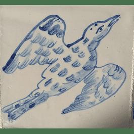 Azulejo para Restauro - Antigo Figuras 4