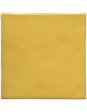 Handmade tile - Color Yellow Light
