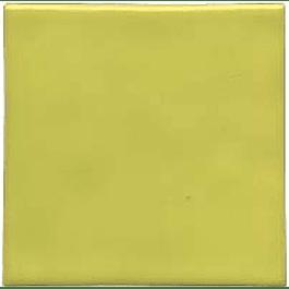 Azulejo feito à mão - Cor Amarelo Limão