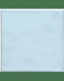 Handmade tile - Color Azul Clarinho