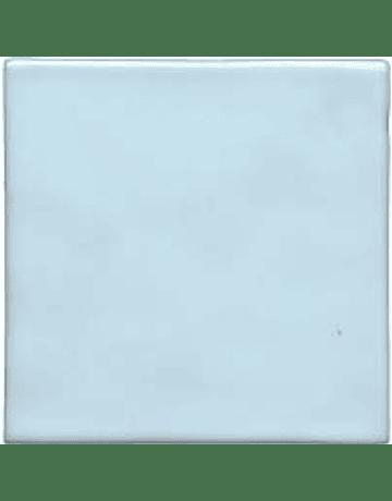 Azulejo feito à mão - Cor  Azul Clarinho