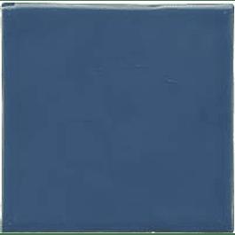 Azulejo feito à mão - Cor  Azul Médio